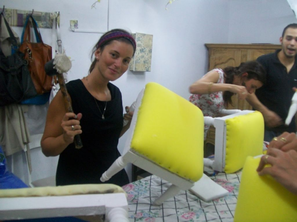 Realizar n taller de tapicer a infofueguina tierra - Talleres de tapiceria ...