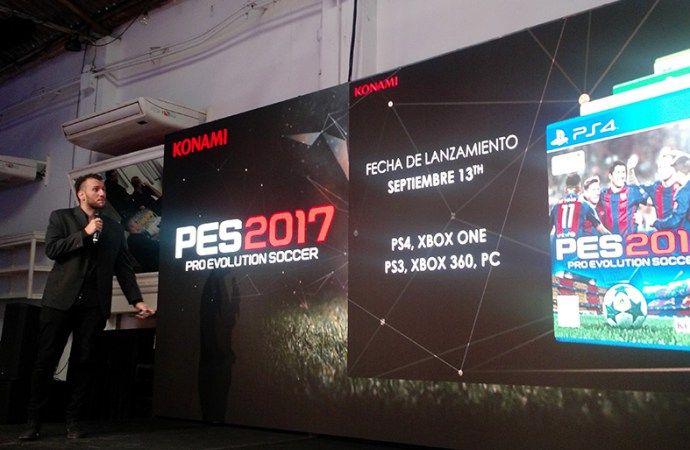 Konami anunció que PES 2017 tendrá la primera división de Chile