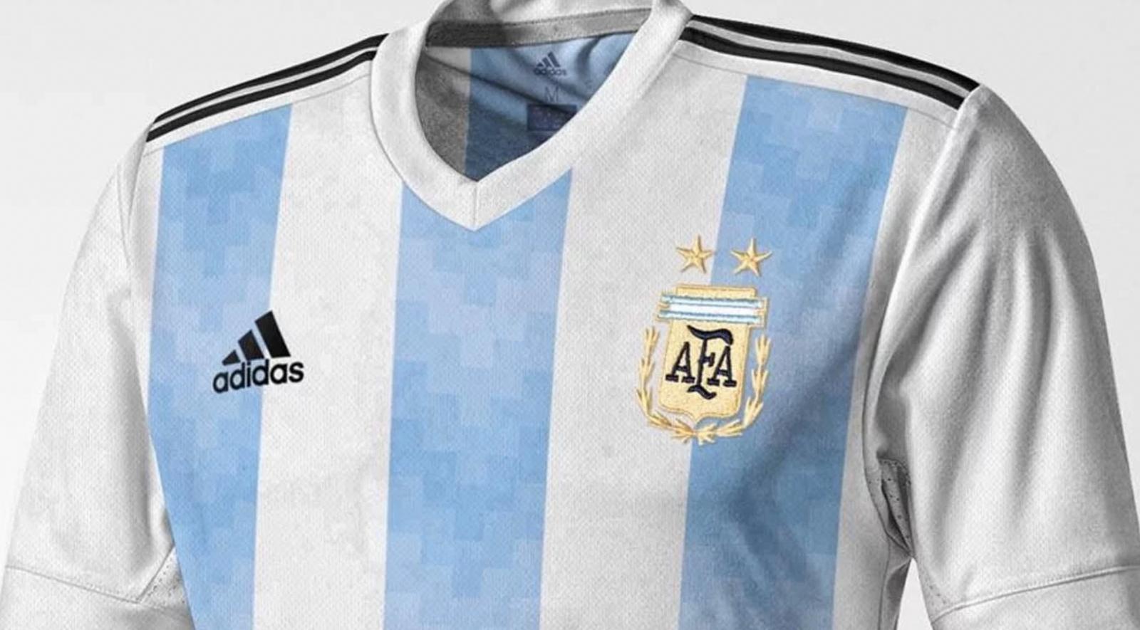 Se filtró la camiseta que la Selección usaría para el Mundia