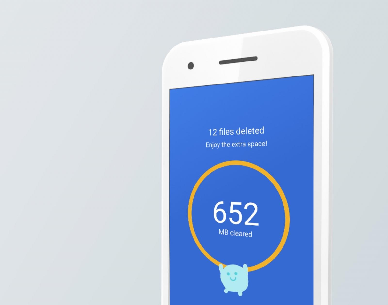 Conquista el espacio de tu smartphone, con Files Go