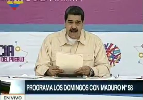 Con criptomoneda, Venezuela