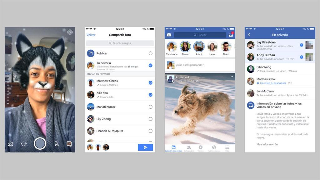 Facebook Stories se empieza a implementar en la Argentina