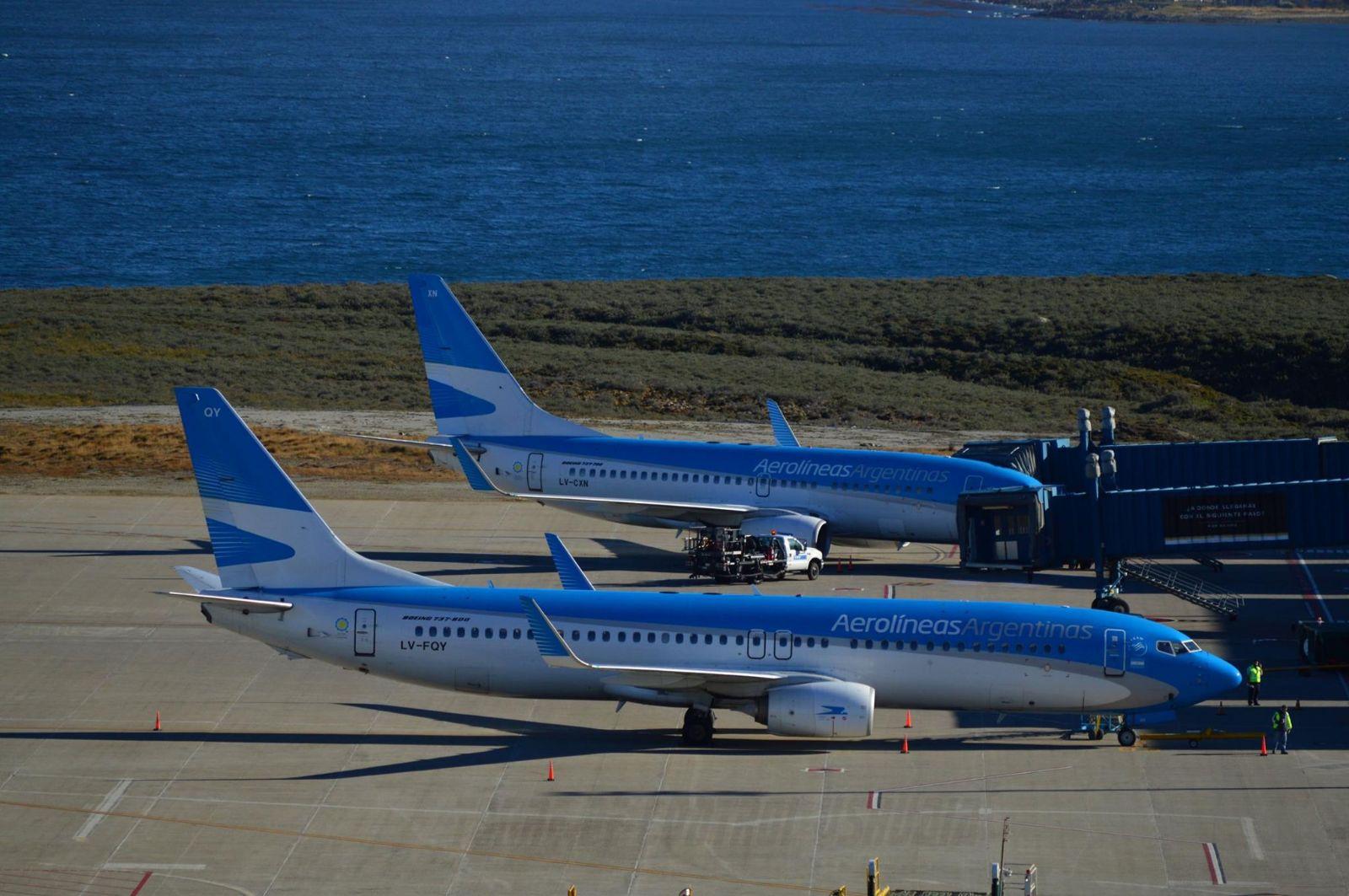 Resultado de imagen para Aerolineas Argentinas Ushuaia Boeing 737
