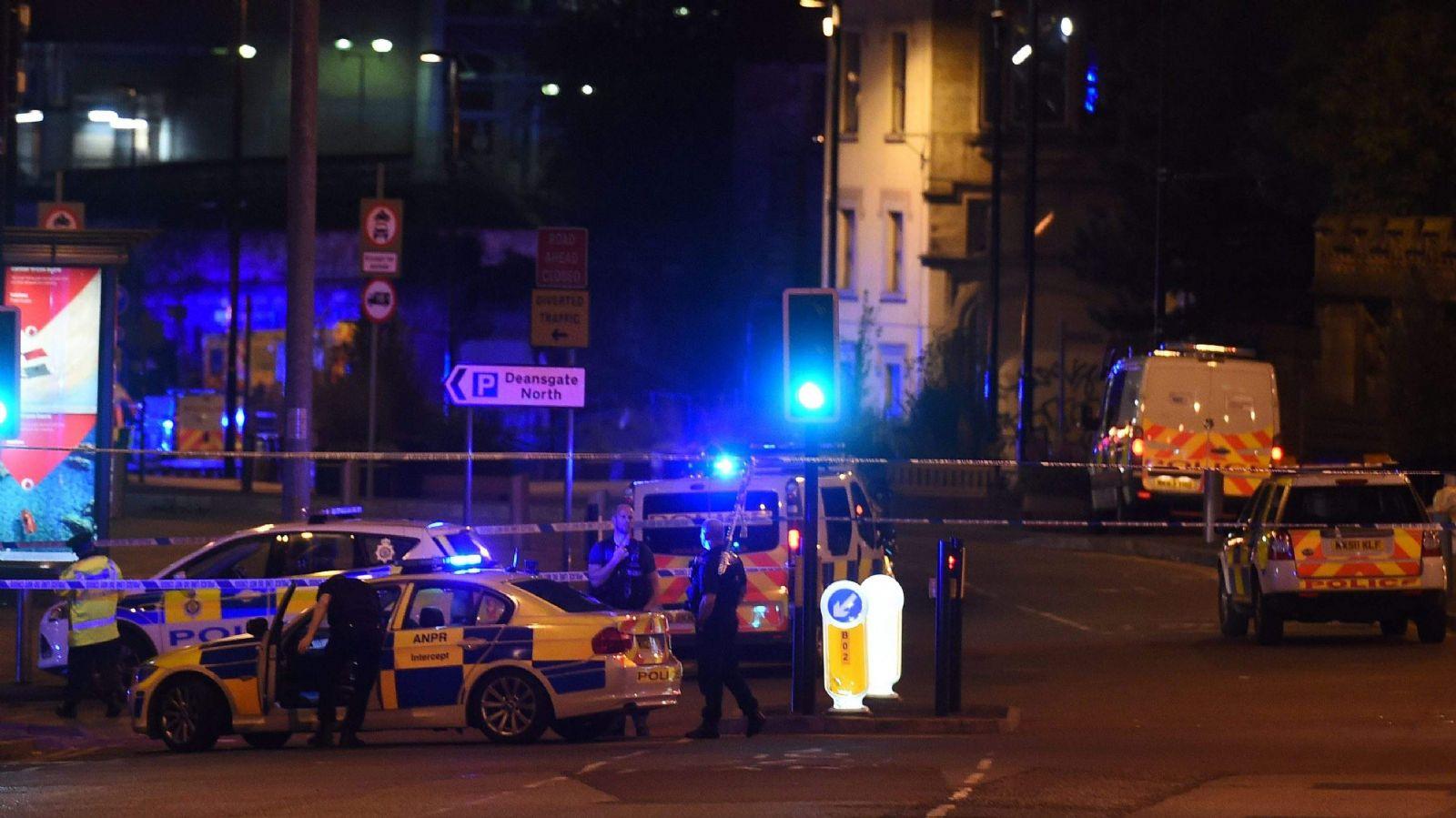 Más de una decena de menores heridos en atentado en Reino Unido