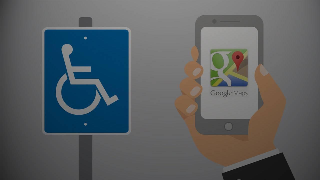 Google Maps señalará accesos para personas con discapacidad