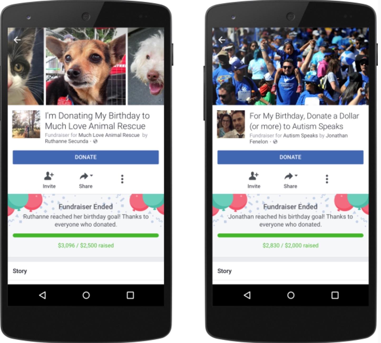 Facebook presenta novedades en su función de