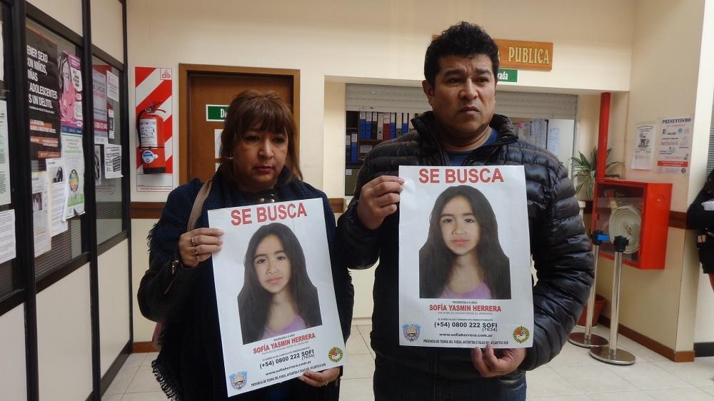 La Justicia presentó rostro actualizado de Sofía Herrera