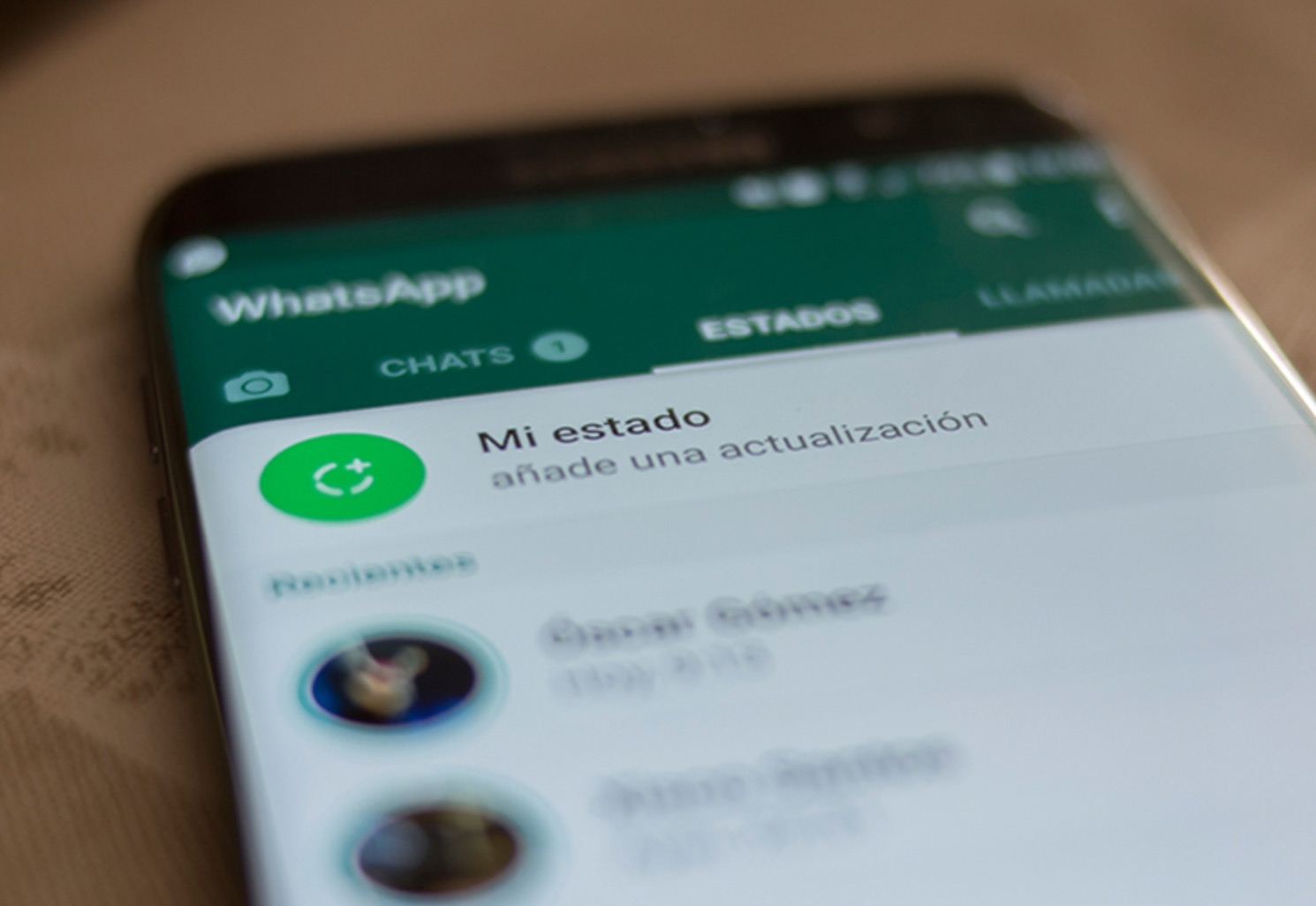 WhatsApp web suma los