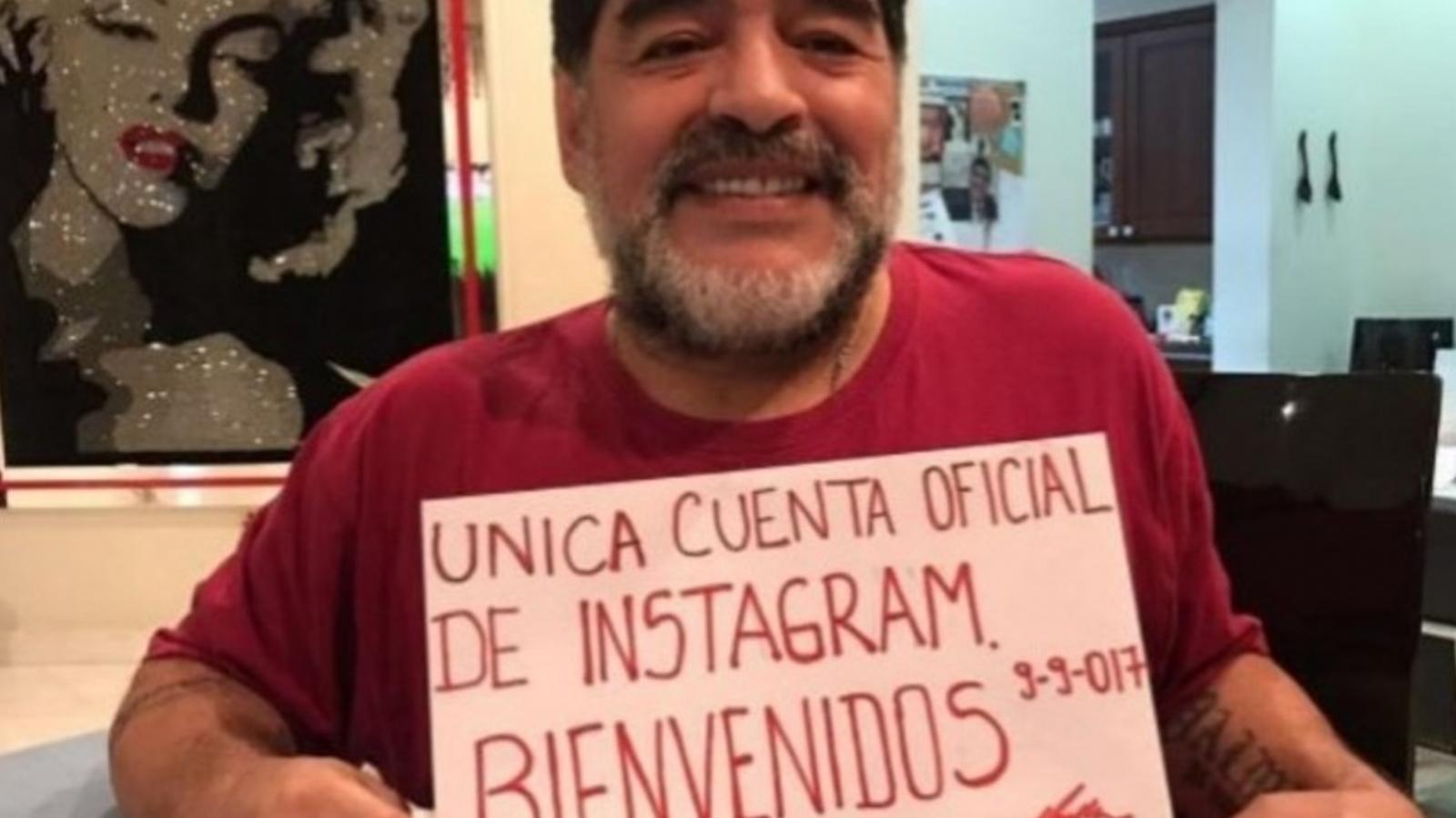 En vivo, Maradona sumó a un nuevo enemigo: Mirtha