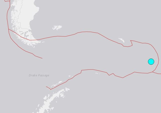 Sismo de 7.1 grados sacude a la Antartida