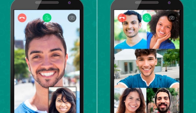 Videollamadas en grupo, próximo lanzamiento de WhatsApp