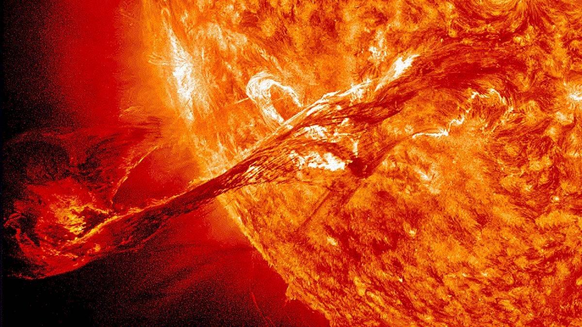 Estamos a horas de que nos impacte la tormenta solar
