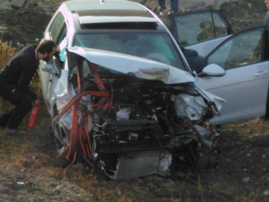 Violento accidente de tránsito en la Av. Héroes de Malvinas