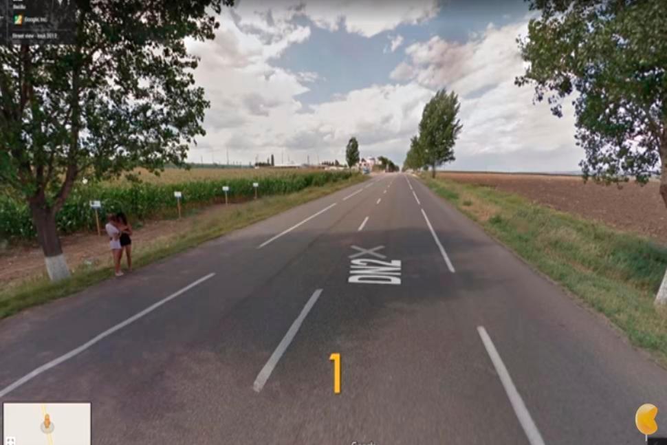Buscó la casa de su novia en Google Maps y se desilusionó