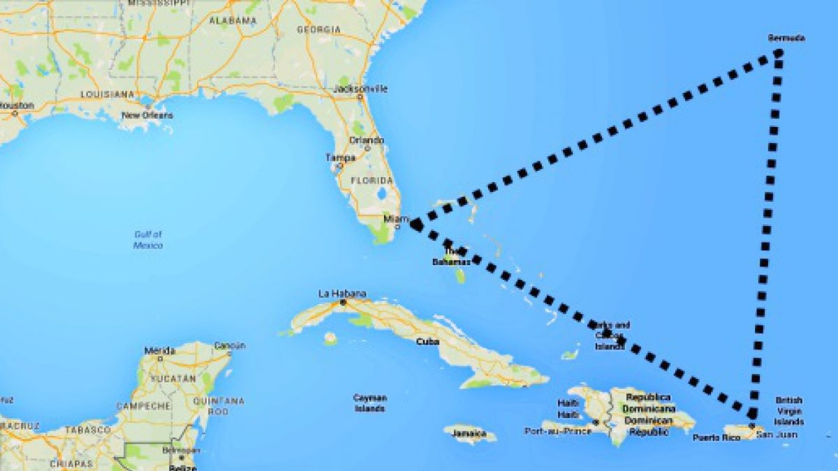 Científicos develaron el misterio del Triángulo de las Bermudas