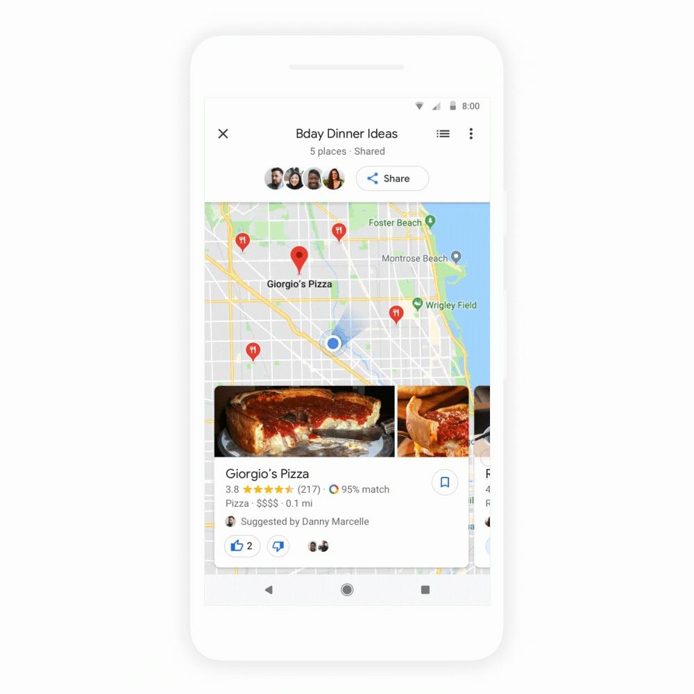 Así es como funciona la nueva sección de Google Maps: explora