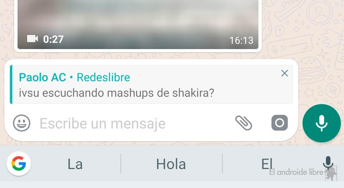 Estas son las novedades que trae la última actualización — WhatsApp