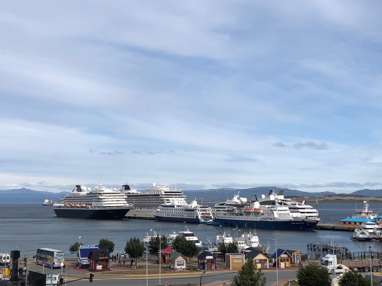 Destinan fondos para la infraestructura del Puerto de Ushuaia y dan rango ministerial a la Dirección Provincial de Puertos