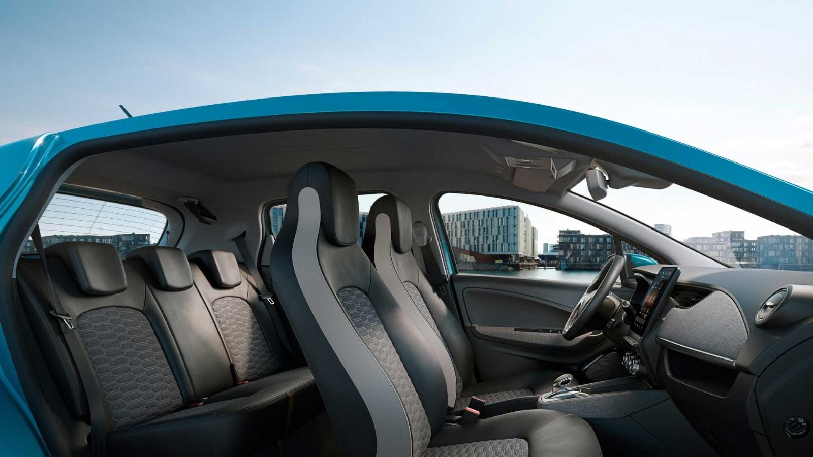 La Renault Zoe est renouvelée avec une autonomie de 400 kilomètres 1