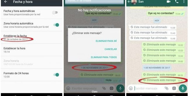 WhatsApp has a flaw that exposes your messages sent by mistake 1