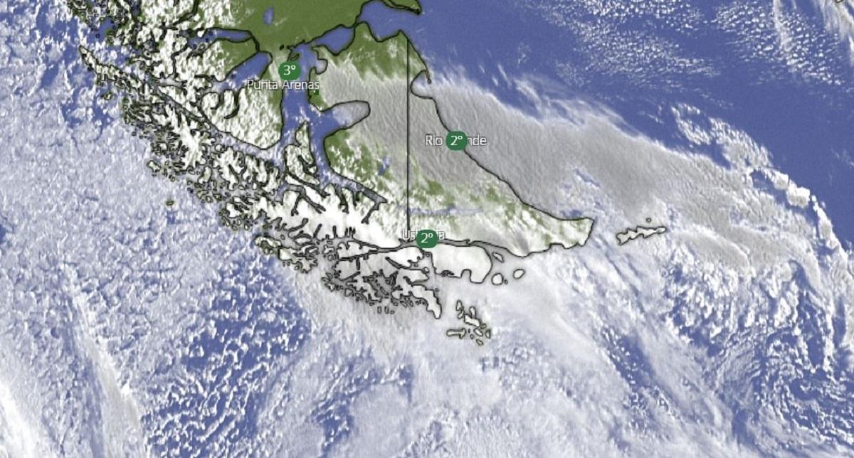 Emitieron un alerta meteorológico para Tierra del Fuego