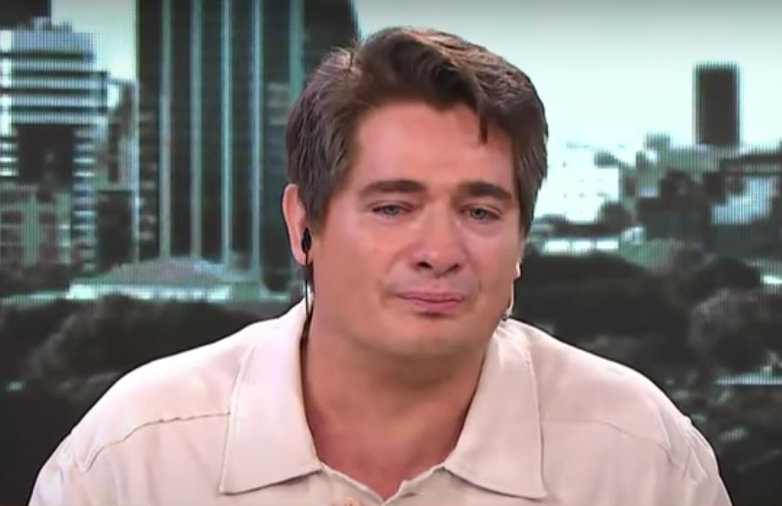 """Guillermo Andino se quebró al aire al relatar cómo atravesó el coronavirus """"Me dio miedo"""