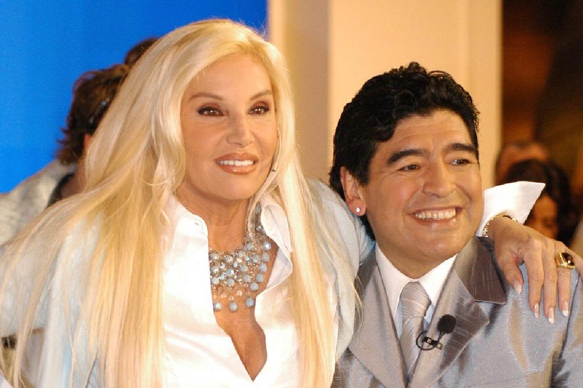 Susana Giménez recordó a Diego Maradona en su Instagram