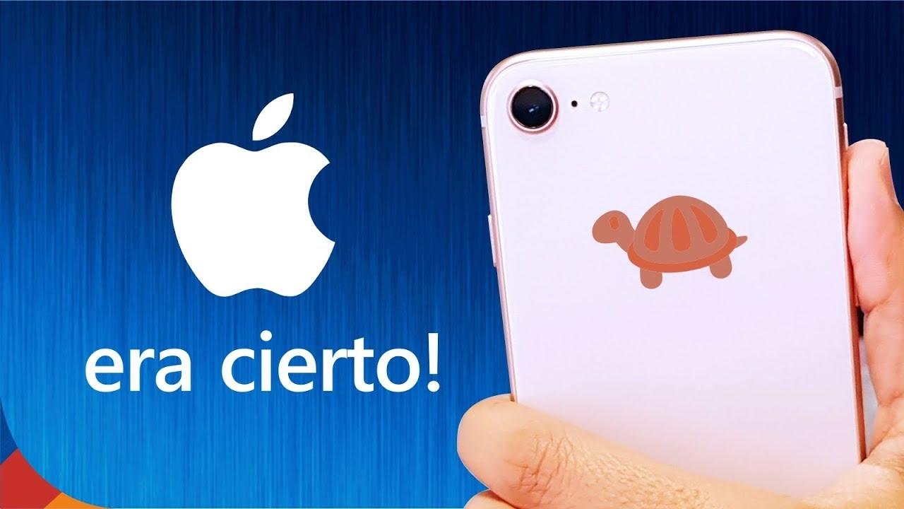 Apple deberá indemnizar a sus clientes por ralentizar iPhones