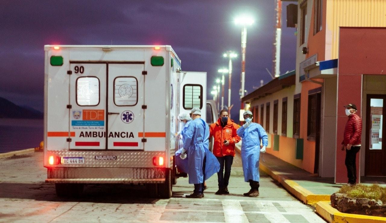 Tripulantes de un buque pesquero dieron positivo de coronavirus — Ushuaia