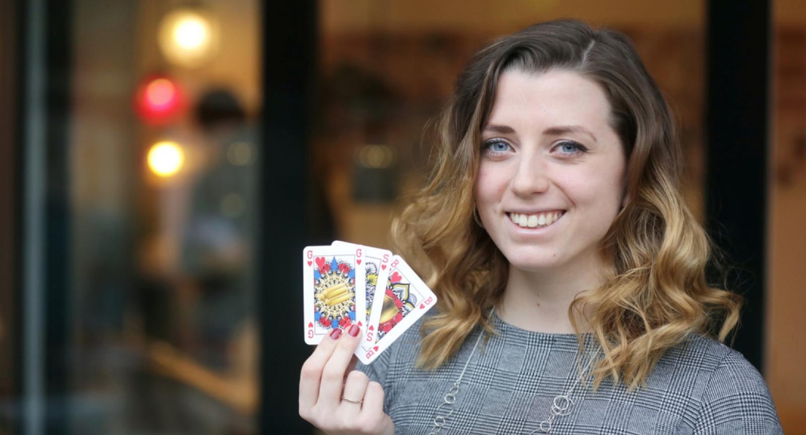 Una joven neerlandesa se inventa unos naipes de género neutro