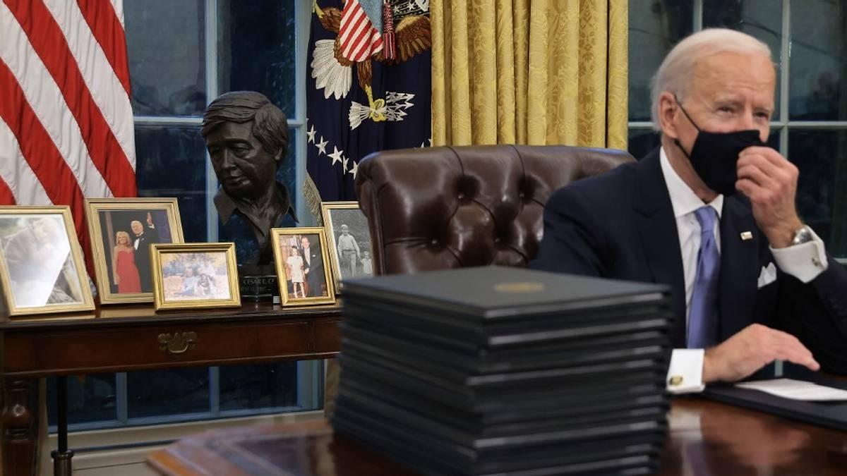 Biden pidió sacar el famoso