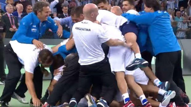 ¡Argentina campéon de la Copa Davis!