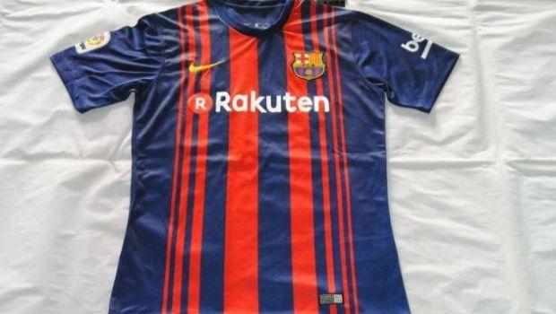 Se habría filtrado la camiseta oficial del Barcelona 2017
