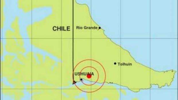 Tierra del Fuego fue sacudida por dos sismos esta madrugada