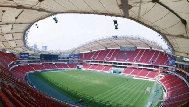 El estadio Hongkou donde jugará Tevez