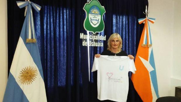 María Musumeci fue distinguida por el intendente Vuoto