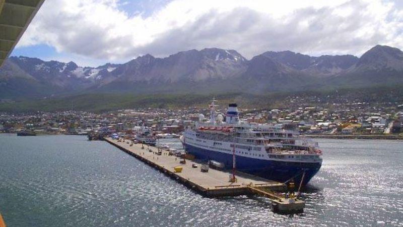 Resultado de imagen para El gobierno fueguino ampliará el puerto de Ushuaia