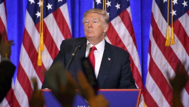 Trump habló del hackeo a los demócratas en su primer discurso
