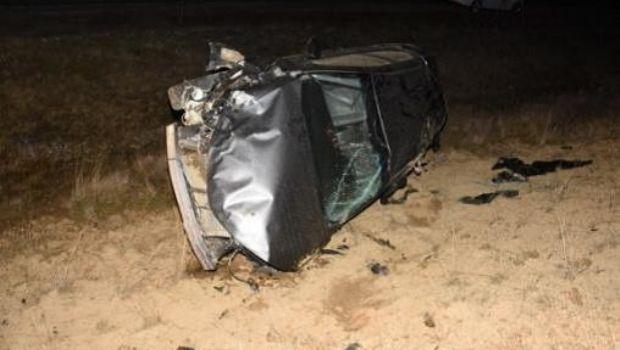 Impactante accidente y vuelco sobre la Ruta 3