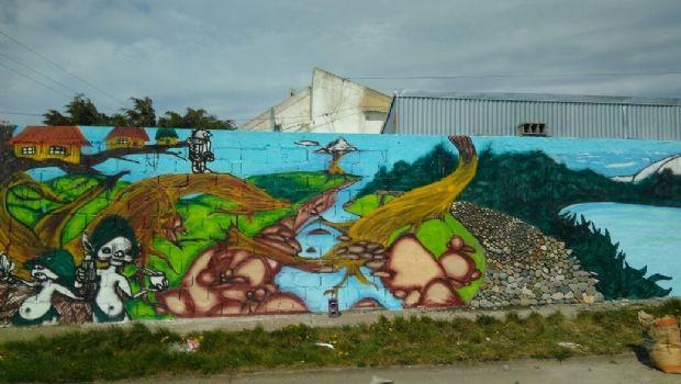 "Mural ""Los Peques, cuidadores de la naturaleza"""