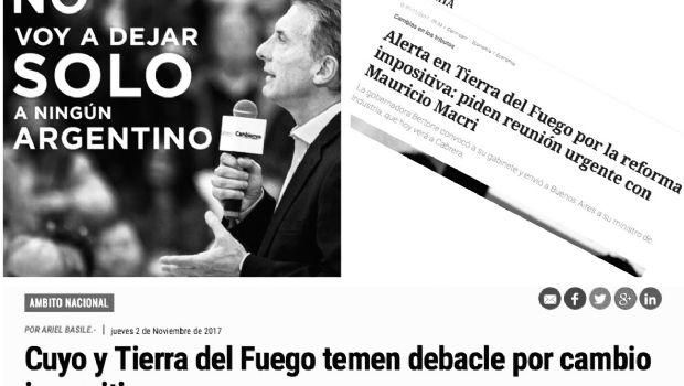 Lo que Macri no entiende de Tierra del Fuego