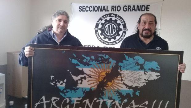 Estatales santacruceños y metalúrgicos riograndenses acuerdan acciones conjuntas