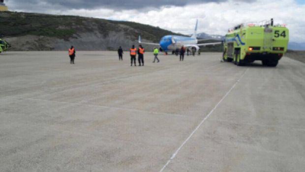 Amenaza de bomba en un vuelo de Aerolíneas a Ushuaia
