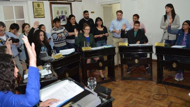 """Secundarios sesionaron en el marco del programa """"Concejales por un Día"""""""