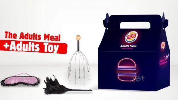 "Burger King Israel lanzó la ""cajita feliz"" para adultos"