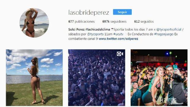 Las fotos que Instagram le censuró a Sol Pérez
