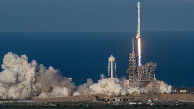 La NASA lanzó un cohete y lo transmitió en 360 grados