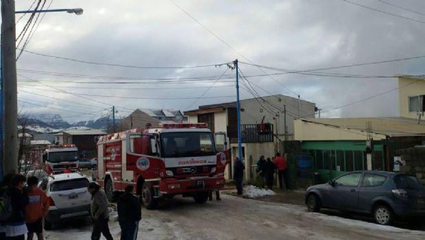 Fue controlado el incendio de la vivienda en Ushuaia