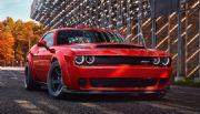 Dodge ya presentó el nuevo Challenger SRT Demon 2018