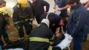 Robo de camioneta derivó en dos choques con heridos